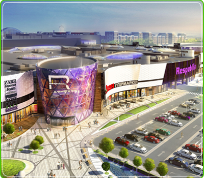 Shopping and  entertainment center «Respublika»