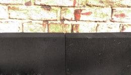 1. Приклеюємо плити піноскла до несучої частини стіни за допомогою клею.
